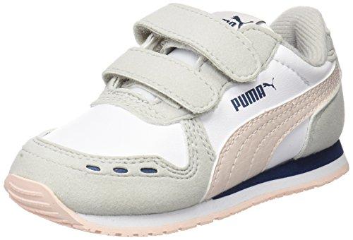 Sneaker Cabana Racer Puma pearl Inf Unisex Sl Puma White Weiß V Kinder TEx0pFqw