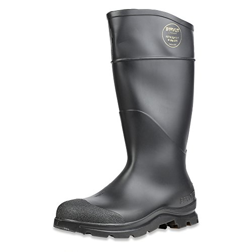 Steel Toe Rain Boots (Servus 18821-10 Comfort Technology 14