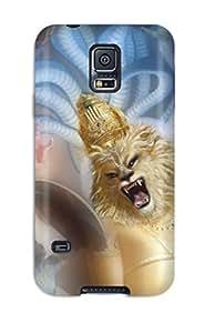 Galaxy S5 Hard Back With Bumper Silicone Gel Tpu Case Cover Lord Nrsimhadeva