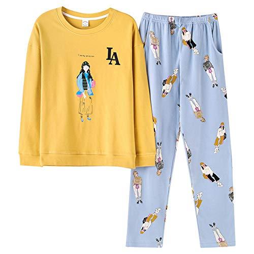 Notte Meaeo Costume Pigiama Pigiama Photo Set Animato Medicazione Homewear Vestiti Da Color Dolce Cartone Casual Bicolore Pigiami Da wtqt6