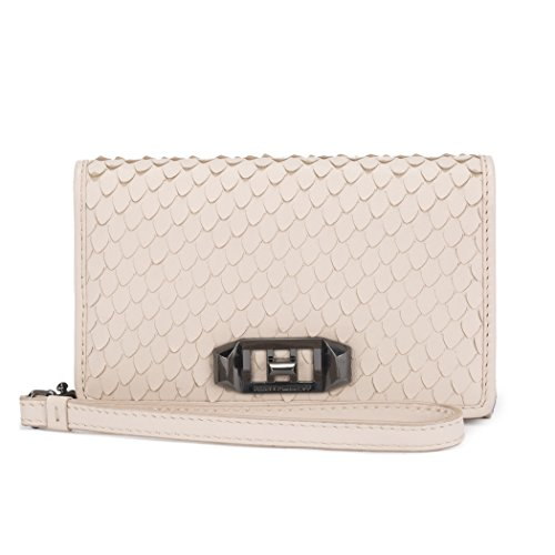 Rebecca Minkoff Love Lock Wristlet for iPhone X - Nude Snakeskin - RMIPH-050-SNAKE by Rebecca Minkoff (Image #5)