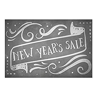 CGSignLab Stripes Gray Window Cling 5-Pack Garage Sale 12x12