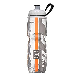 Polar Bottle Insulated Water Bottle (24-Ounce) (Orange/Black)