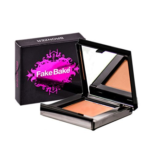 Blush Bronzer by Fake Bake | Cream Based Bronzing Compact Provides Long-Lasting Pigmentation Results | 8 (Bronzing Compact)