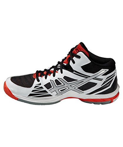 Asics Gel-Volley Elite 3 MT, Chaussures de Sport Homme WHITE / SILVER / FIERY RED