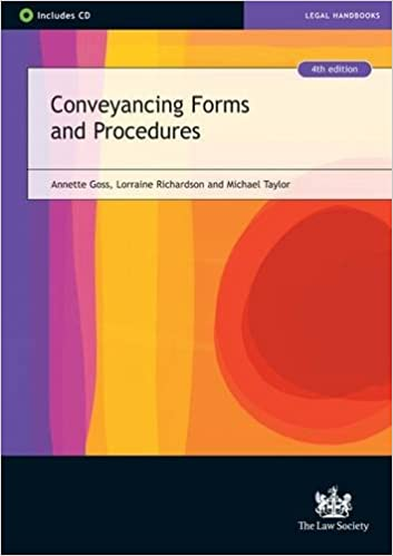 Conveyancing Forms and Procedures: Amazon co uk: Annette