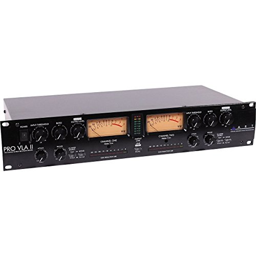 Mastering Processor (ART Pro-VLA II Two Channel Vactrol-based Compressor)