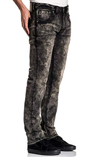 Affliction Gage Fleur Matador Skinny Leg Fit Fashion Denim Jeans Pants for Men