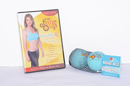 Jill-Miller-Quick-Fix-RX-Upper-and-Lower-Body-Kit-with-Instructional-DVD-and-Orignal-Tune-Up-Balls