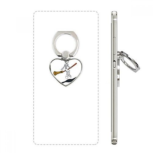 Egypt Mummy Halloween Wizard Horus Heart Cell Phone Ring Stand Holder Bracket Universal Support Gift]()