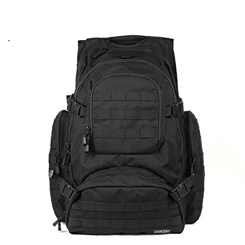 Sincere® Verpackung / Rucksäcke / Mobil / Ultra Noah taktische militärische Fans Camping Rucksack / Outdoor-Bereich Erweiterungskits-schwarz 40L