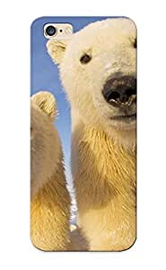 Hot YnWVDqJ2922efRBD Case Cover Protector For Iphone 6 Plus- Polar Bear Cubs/ Special Gift For Lovers