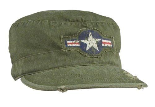 - Rothco Air Corps Vintage Fatigue Cap, Olive Drab, Medium