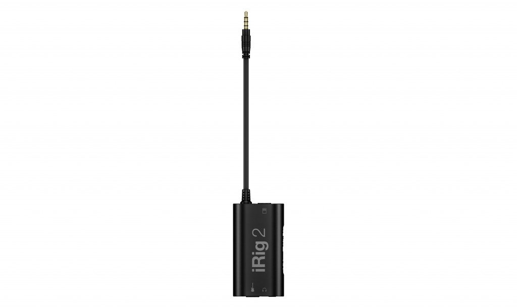 IK Multimedia iRig 2 Guitar Interface Adaptor for iPhone iPod Touch /& iPad IPIRIG2PLGIN