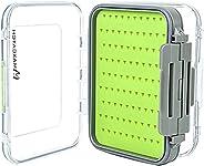 Maxcatch Two-Sided Waterproof Fly Box Easy Grip Foam Jig Fly Fishing Box Multiple Sizes