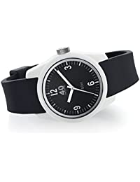Women's 'BASIC' Quartz Plastic and Silicone Casual Watch, Color:Black (Model: 40N2.1L)