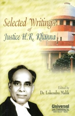 Read Online Selected Writings of Justice H. R. Khanna pdf epub