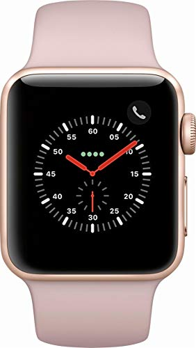 Apple Watch Series 3 - GPS - Rose Gold Aluminum Case with Pink Sand Sport Band - 38mm - MQKW2LL/A (Refurbished)