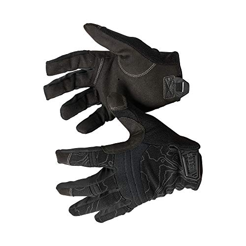 5.11 Competition Shooting Glv Men's Touch Screen Competition Shooting Tactical Glove, Style 59372, Black, Medium