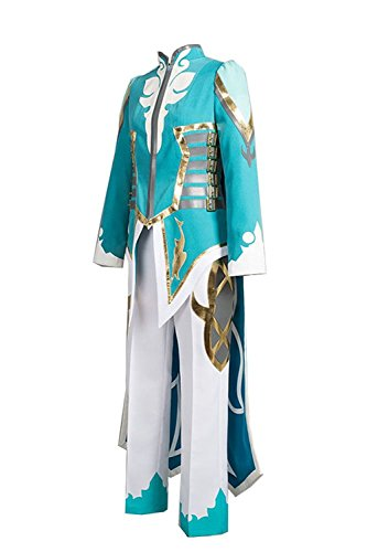 Men's Tales of Zestiria Costume Mikleo Cosplay Outfit Uniform Suit