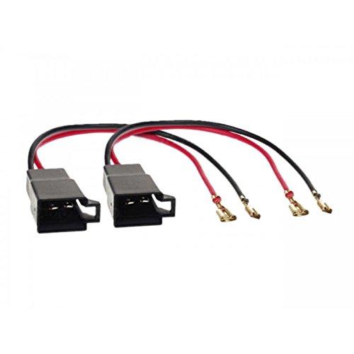 2 x Anschlü sse Stecker Lautsprecher Lautsprecher fü r Renault Sound-Way