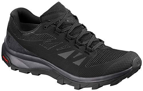 Salomon Women's Outline GTX W Hiking Shoe, Phantom/Black/Magnet