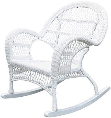 Jeco Rocker Wicker Chair