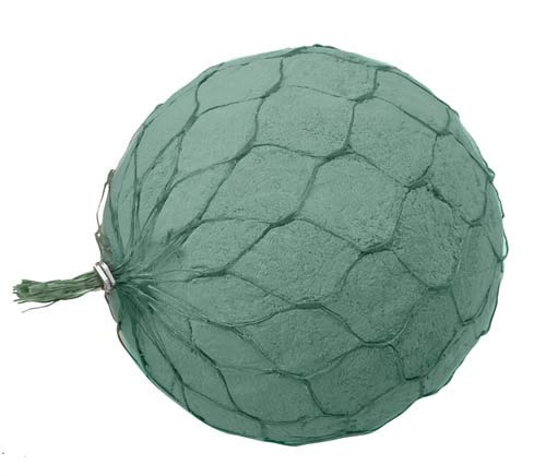 Oasis Netted Sphere Floral Foam MaxLife (Sell by CASE) (6''(20/CASE))
