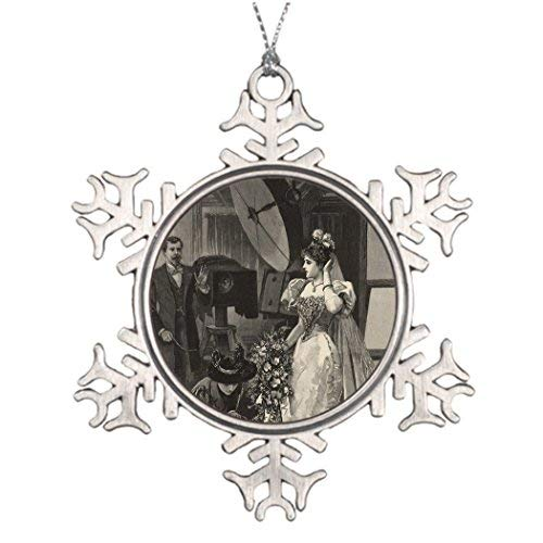 Tree Branch Decoration Vintage Victorian Bride Bridal Portrait Table Decorations for Christmas