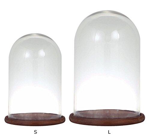 グラスドーム デコレーション M ダルトン DULTON GLASS DOME M B01LY10BD6