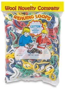 Wool Novelty Cotton Weaving Loops 16oz-Assorted ()