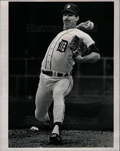 Historic Images - 1983 Vintage Press Photo Jack Morris Tiger Stadium - DFPD05219 ()