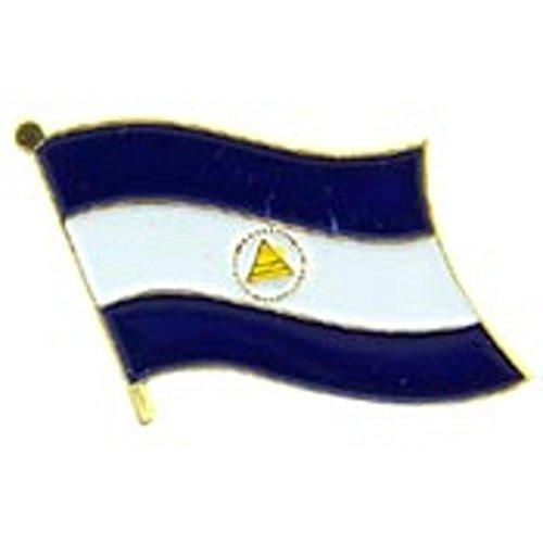 Nicaragua Flag Pin 1