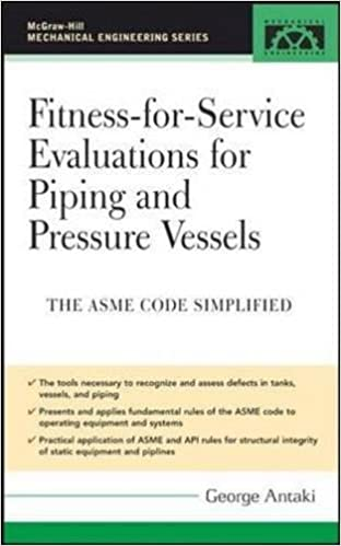 ASME Code Simplified Fitness-for-Service Evaluations for Piping and Pressure Vessels
