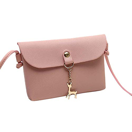 de preppy Piel Mujer Mounter Sintética Rosa Bags WE 35S estilo fwaFI6Xq
