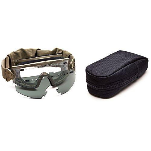 Smith Optics Lopro régulateur Elite Masque tactique avec verres interchangeables-Noir chair