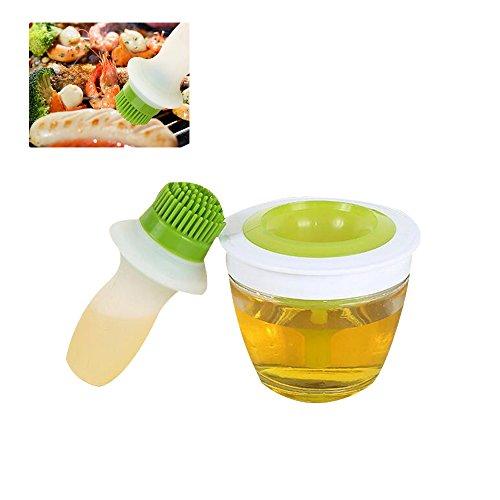 Pawaca Oil Bottle Brush Set, Silicone Oil Bottle Brush Heat-