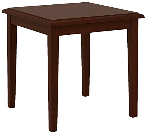 Wood Lesro End Table (Lesro Weston W1270T5Y End Table in Mahogany Finish)