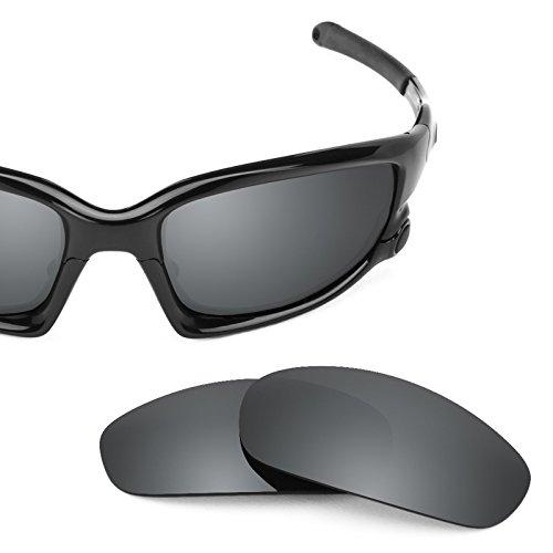 - Revant Polarized Replacement Lenses for Oakley Split Jacket (Asian Fit) Elite Black Chrome MirrorShield