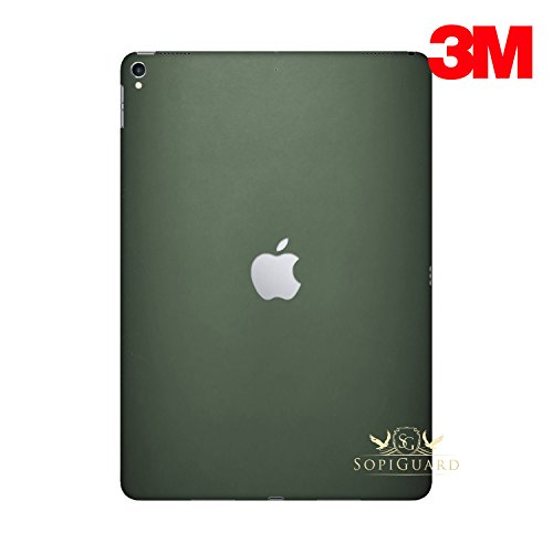 - SopiGuard for Apple 2nd Generation iPad Pro 12.9 (A1670) Carbon Fiber Rear Panel Precision Edge-to-Edge Coverage Easy-to-Apply Vinyl Skins (3M Matte Army Green)
