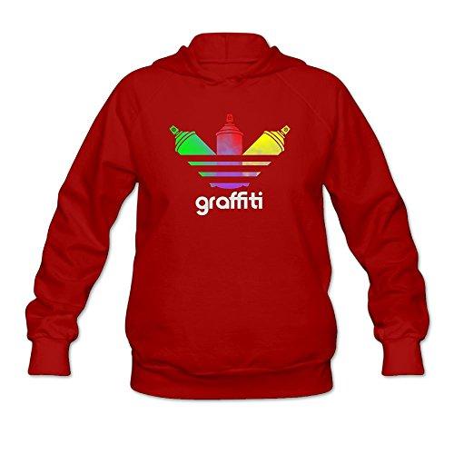 Prohats Graffiti Spray Can Women's Sweatshirt,Long Sleeve Hoody For Woman