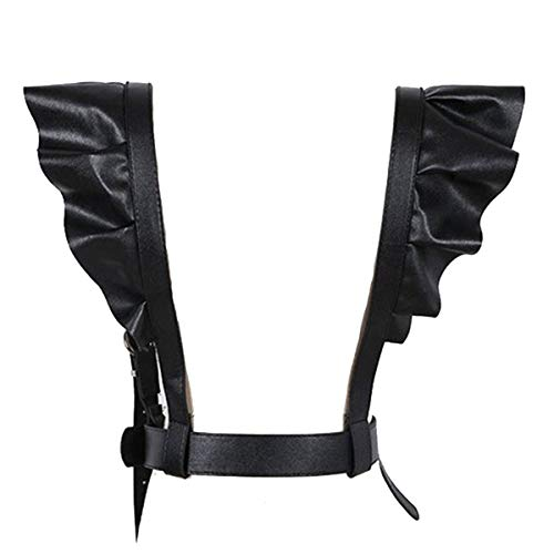 Wyenliz Women's Punk Straps Belts-Body Harness Belt Body Chain Harajuku Suspenders (Leather Harness Belt)