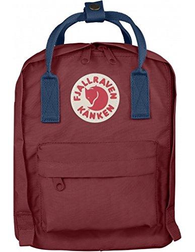 Fjallraven Kanken Kids Backpack - Ox Red / Royal Blue