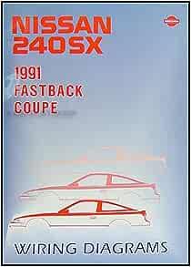 [DIAGRAM_38IU]  1991 Nissan 240SX Wiring Diagram Manual Original: Nissan: Amazon.com: Books | 1991 Nissan 240sx Wiring Diagram |  | Amazon.com