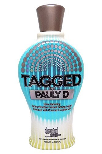 Tagged Tanning Lotion By Pauly D 12.25 by devoted creations
