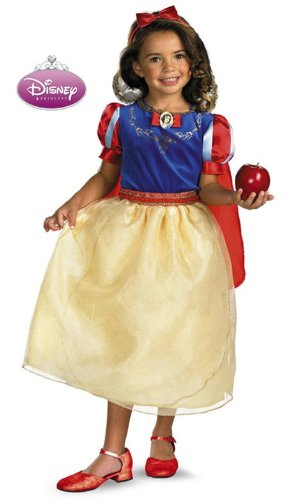 Deluxe Snow White Toddler & Child Costumes (Deluxe Snow White Costume - 4-6X)