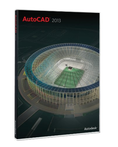 AutoCAD 2013 for PC Upgrade --  Includes a 1-Year Autodes...