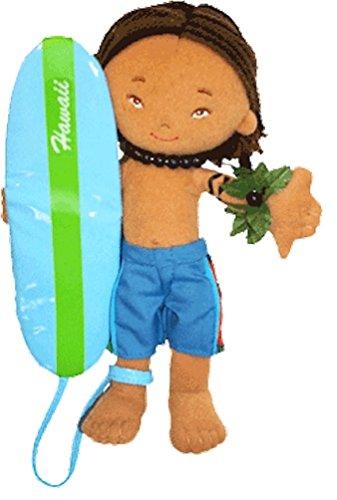 8.5 inch Hawaiian Surfer Boy Doll Keanu