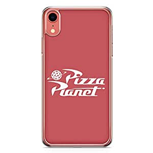 Loud Universe Pizza Planet iPhone XR Case Toy Story iPhone XR Cover with Transparent Edges