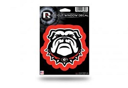 Rico Industries NCAA Georgia Bulldogs Die-Cut Window Decal, 5